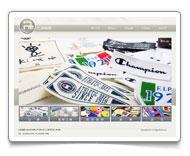 網頁設計-北美印標