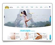 網頁設計-巴黎會館